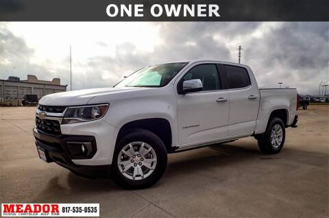 2021 Chevrolet Colorado for sale at Meador Dodge Chrysler Jeep RAM in Fort Worth TX