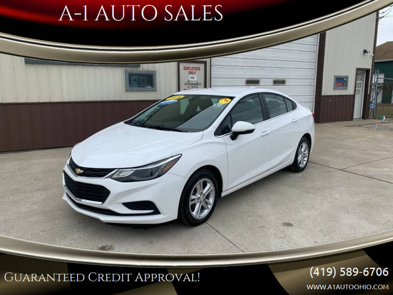 2018 Chevrolet Cruze for sale at A-1 AUTO SALES in Mansfield OH