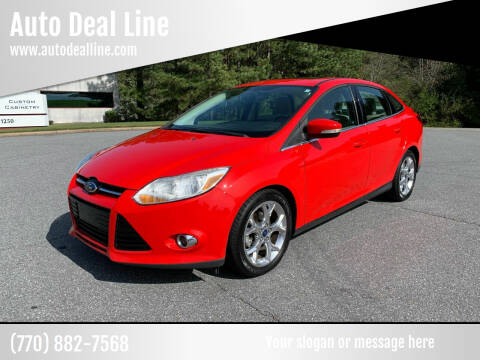 2012 Ford Focus for sale at Auto Deal Line in Alpharetta GA
