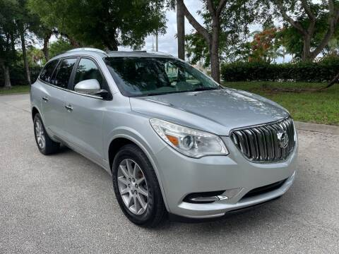 2015 Buick Enclave for sale at DELRAY AUTO MALL in Delray Beach FL