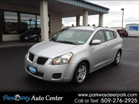 2010 Pontiac Vibe for sale at PARKWAY AUTO CENTER AND RV in Deer Park WA