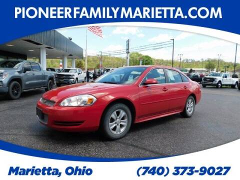 2013 Chevrolet Impala for sale at Pioneer Family preowned autos in Williamstown WV