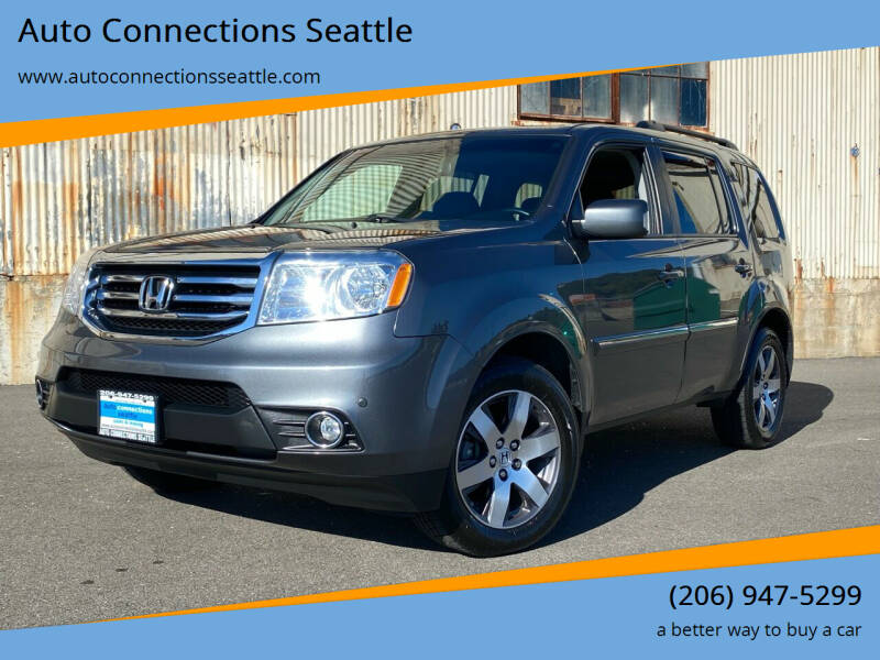 2013 Honda Pilot for sale at Auto Connections Seattle in Seattle WA