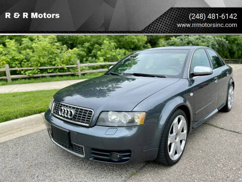 2004 Audi S4 for sale at R & R Motors in Waterford MI