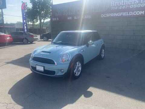 2013 MINI Hardtop for sale at SPRINGFIELD BROTHERS LLC in Fullerton CA