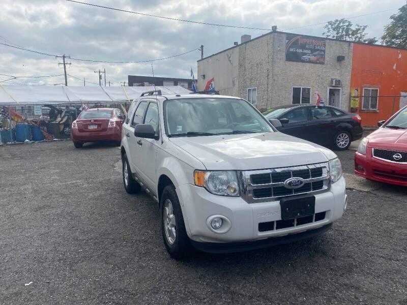2011 Ford Escape for sale at Impressive Auto Sales in Philadelphia PA