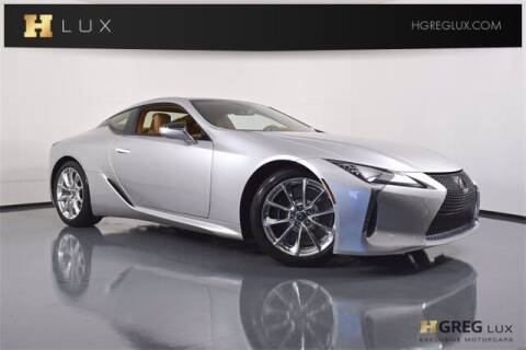 2018 Lexus LC 500 for sale at HGREG LUX EXCLUSIVE MOTORCARS in Pompano Beach FL