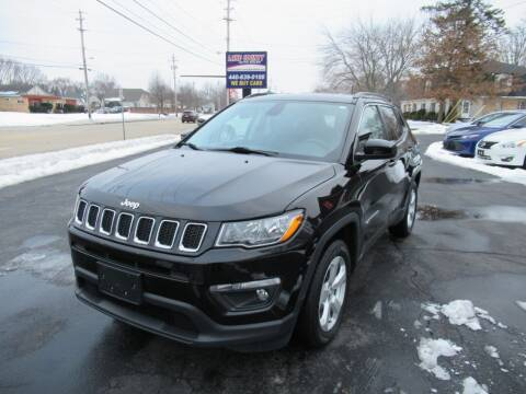 2018 Jeep Compass for sale at Lake County Auto Sales in Painesville OH
