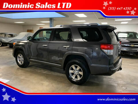 2011 Toyota 4Runner for sale at Dominic Sales LTD in Syracuse NY