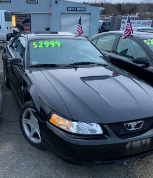 1999 Ford Mustang for sale at Classic Heaven Used Cars & Service in Brimfield MA