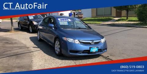 2010 Honda Civic for sale at CT AutoFair in West Hartford CT