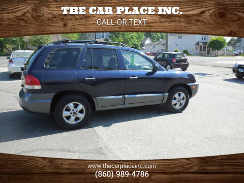 2005 Hyundai Santa Fe for sale at THE CAR PLACE INC. in Somersville CT