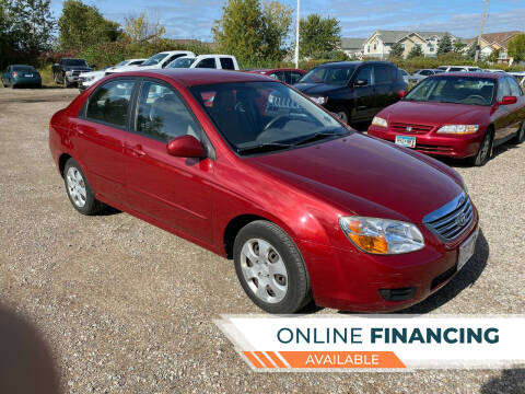 2008 Kia Spectra for sale at Sunrise Auto Sales in Stacy MN