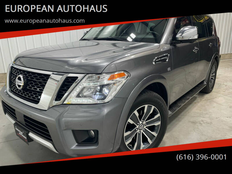 2018 Nissan Armada for sale at EUROPEAN AUTOHAUS in Holland MI