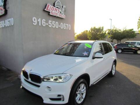 2014 BMW X5 for sale at LIONS AUTO SALES in Sacramento CA