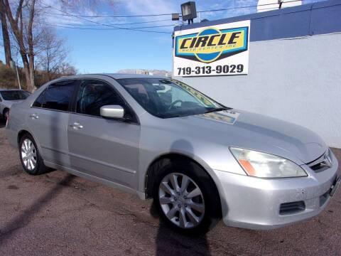 2006 Honda Accord for sale at Circle Auto Center in Colorado Springs CO