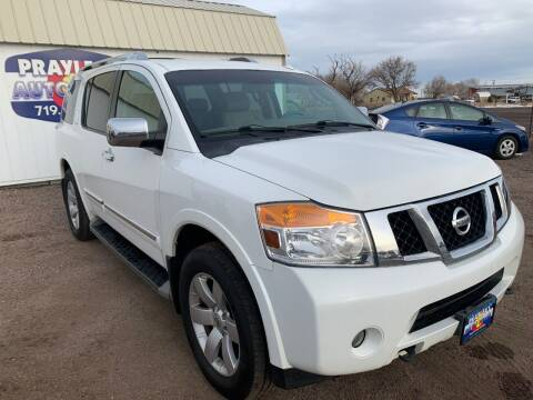 2011 Nissan Armada for sale at Praylea's Auto Sales in Peyton CO