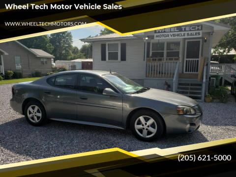 2005 Pontiac Grand Prix for sale at Wheel Tech Motor Vehicle Sales in Maylene AL
