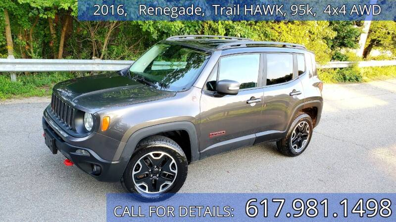 2016 Jeep Renegade for sale at Wheeler Dealer Inc. in Acton MA