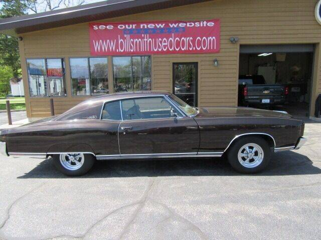 1972 Chevrolet Monte Carlo for sale at Bill Smith Used Cars in Muskegon MI