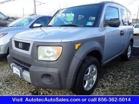 2003 Honda Element for sale at Autotec Auto Sales in Vineland NJ