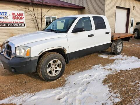 2005 Dodge Dakota for sale at Hollatz Auto Sales in Parkers Prairie MN