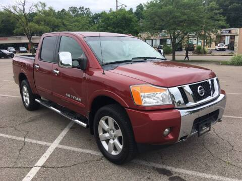 2014 Nissan Titan for sale at Borderline Auto Sales in Loveland OH