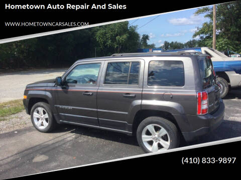 2015 Jeep Patriot for sale at Hometown Auto Repair and Sales in Finksburg MD