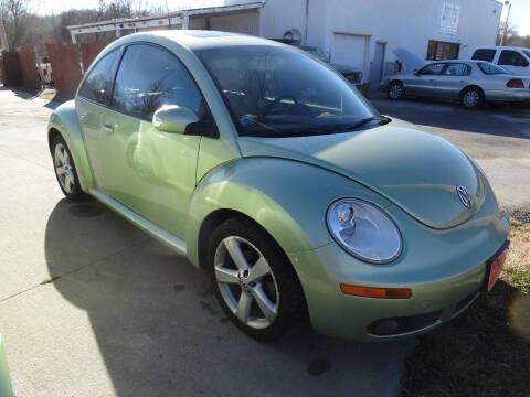 2006 Volkswagen New Beetle for sale at John's Auto Sales in Council Bluffs IA
