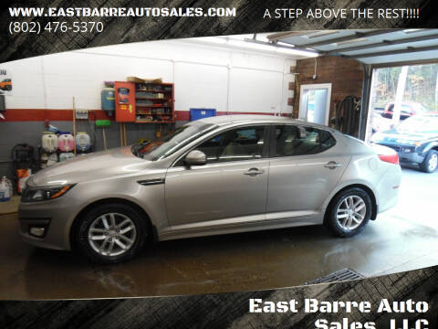 2015 Kia Optima for sale at East Barre Auto Sales, LLC in East Barre VT