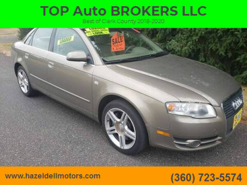 2006 Audi A4 for sale at TOP Auto BROKERS LLC in Vancouver WA