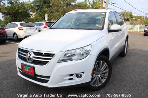2010 Volkswagen Tiguan for sale at Virginia Auto Trader, Co. in Arlington VA