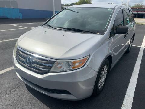 2013 Honda Odyssey for sale at Eden Cars Inc in Hollywood FL