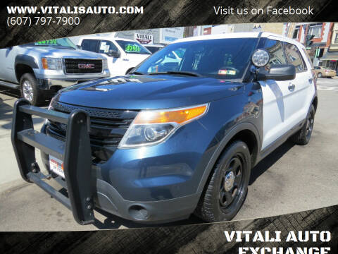 2015 Ford Explorer for sale at VITALI AUTO EXCHANGE in Johnson City NY