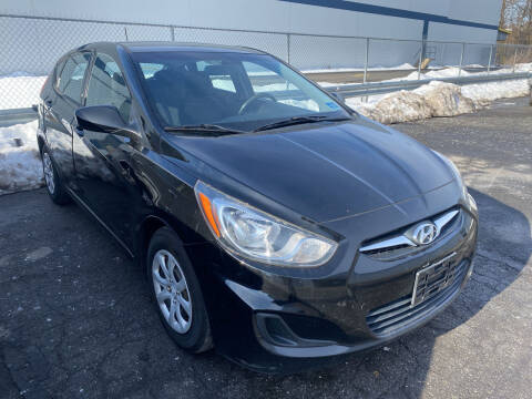 2012 Hyundai Accent for sale at JerseyMotorsInc.com in Teterboro NJ