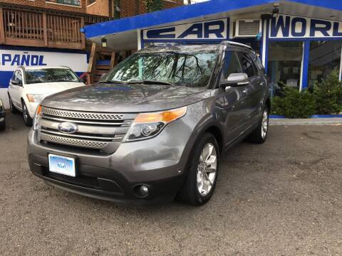 2014 Ford Explorer for sale at Car World Inc in Arlington VA