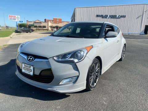 2013 Hyundai Veloster for sale at MARLER USED CARS in Gainesville TX