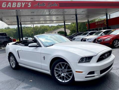 2013 Ford Mustang for sale at GABBY'S AUTO SALES in Valparaiso IN