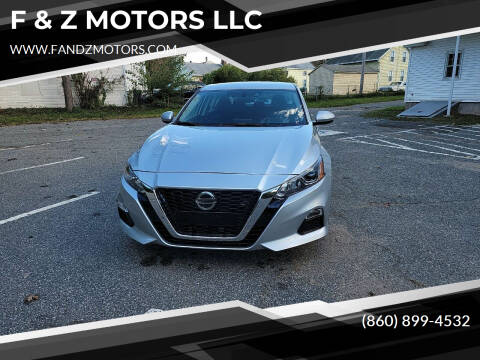 2019 Nissan Altima for sale at F & Z MOTORS LLC in Waterbury CT