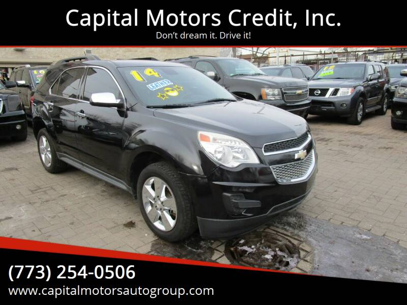 2014 Chevrolet Equinox for sale at Capital Motors Credit, Inc. in Chicago IL