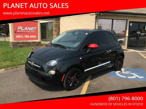 2016 FIAT 500 for sale at PLANET AUTO SALES in Lindon UT