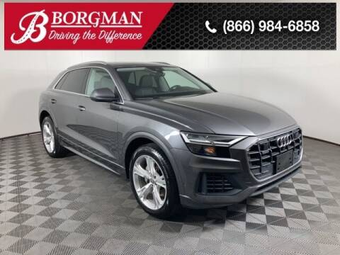 2019 Audi Q8 for sale at BORGMAN OF HOLLAND LLC in Holland MI