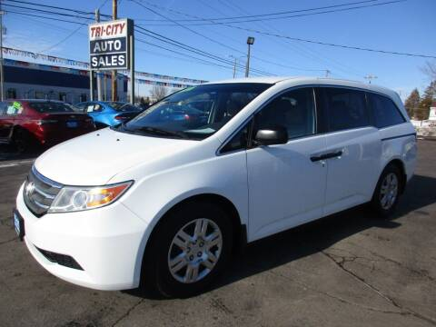 2012 Honda Odyssey for sale at TRI CITY AUTO SALES LLC in Menasha WI