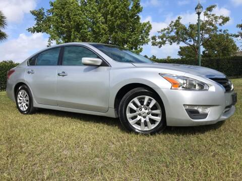 2013 Nissan Altima for sale at Kaler Auto Sales in Wilton Manors FL