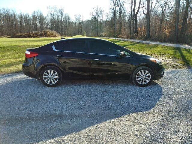 2014 Kia Forte for sale at Doyle's Auto Sales and Service in North Vernon IN