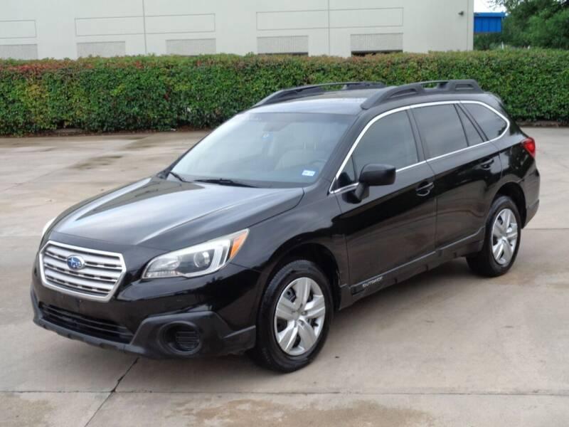 2015 Subaru Outback for sale at Auto Starlight in Dallas TX