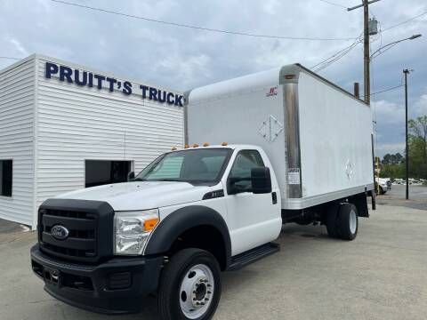 2015 Ford F-550 Super Duty for sale at Pruitt's Truck Sales in Marietta GA
