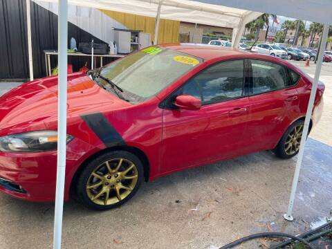 2016 Dodge Dart for sale at DAN'S DEALS ON WHEELS AUTO SALES, INC. in Davie FL