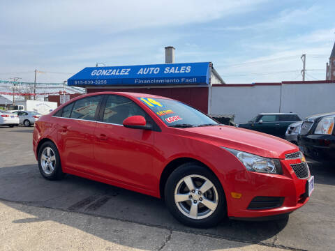 2014 Chevrolet Cruze for sale at Gonzalez Auto Sales in Joliet IL