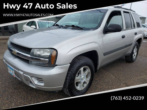 2005 Chevrolet TrailBlazer for sale at Hwy 47 Auto Sales in Saint Francis MN